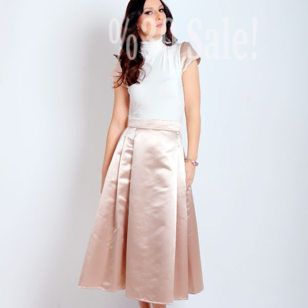 Satin-Skirt