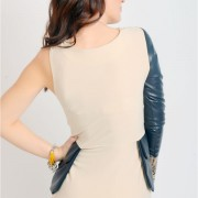 dress-with-leather