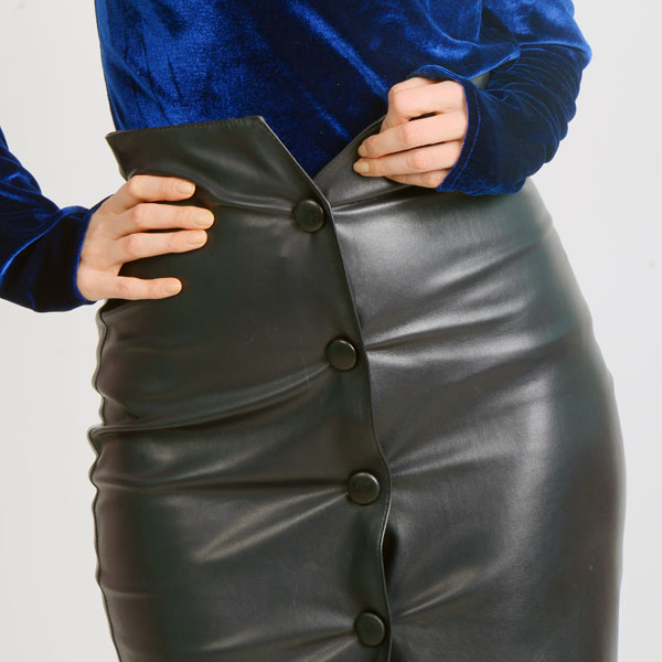 leather-skirt